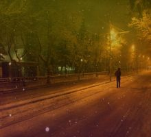 :with alone: by hayal25