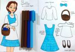 Casual Cosplay: Belle's Blue and White Dress by valloria
