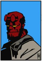 Hellboy by ReneeMars
