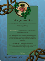 Commission: Celtic Journal Skin by JeffrettaLyn