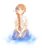 Blue Rose by inahorange