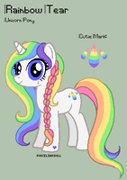 MLP - Rainbow Tear Reference Sheet by porcelian-doll