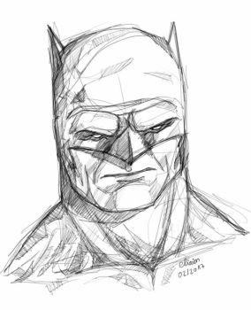 The Dark Knight Returns sketch by eliaim