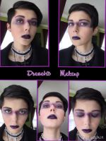 Dramatic Makeup by TheLadyOfBlack