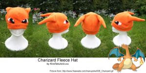 Charizard Fleece Hat by KiraTakuto