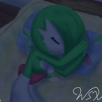Sleeping Gardevoir by wsxb