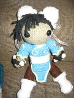 Amigurumi Chun Li by NerdStitch