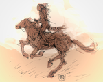 Crazy Horse by characterundefined