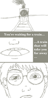 You're waiting for a train... by creativelemons