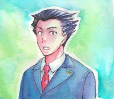 Phoenix Wright - What by FadingColors