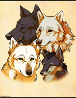 The Pack by BlueHunter