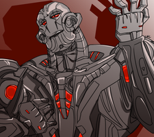 ultron by RedsReddie