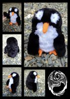 Brenda the Civil Disobedience Penguin - SOLD by SonsationalCreations
