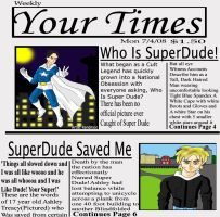 SuperDude:Your Times by Gale01