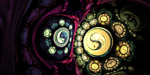 Mr. Yin and yang on acid v2 by teundenouden