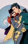 AGENT 37 AND BATGIRL by Haycle