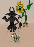 Gardening and imps don't go together by perushinkov