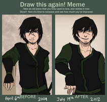 Amatt: Draw this Again meme by VeniceLatte