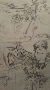 The Comic Rough Comic pg6 by editorblue