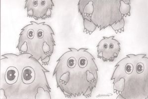 Kuriboh Everywhere by SmileKittyCat