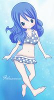 Chibi Juvia by KrlTheKing