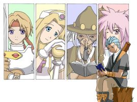Tales of Phantasia by AquaWaters