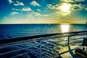 Disney Cruise Sunrise by MrsChibi