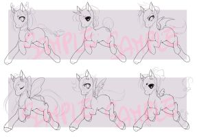 Pay or Trade to Use Pony Adoptable Base by Desiree-U