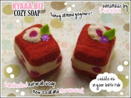 kyaaa.biz Soap - Honey Cakes by shiricki