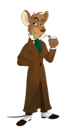 Basil Of Baker Street by clwnprincessofcrime