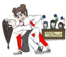 Dancing with the hyugas! by Cheese1300