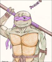 TMNT: Donnie by Mirrerre
