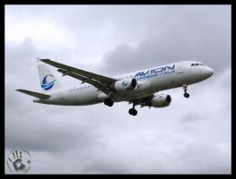 Airbus A320-212 Avion by Bieniek