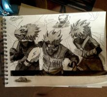 Kakashi Hatake: Lost on the Path of Life by SilverGoldsun
