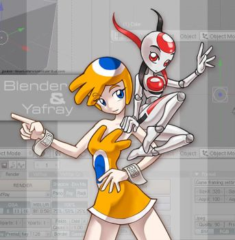 Blender and Yafray by juzo-kun