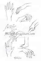 Hand Practice by hushaby-monster