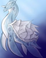Lapras by chicken-stalker