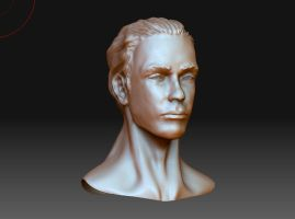 head zbrush sketch by phongshader