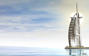 Dubai Sail Hotel by rlcwallpapers