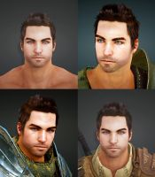 Black Desert skin class Warrior - Dastin by Savtsov