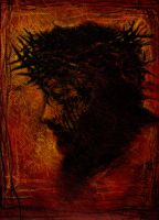 CROWNED CHRIST by gromyko
