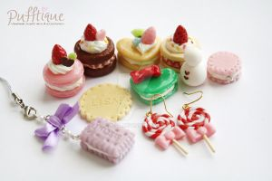 Miniature Sweets by li-sa