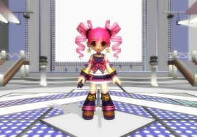 MMD Grand Chase Model Rip 36: Amy (Muse Version) by Kritobias