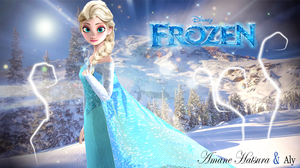 MMD/Blender:Elsa, the Queen of Arendelle by AmaneHatsura