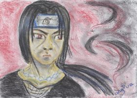 Itachi in Pastell by anguamoon
