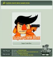 Super Crate Box Icon by CODEONETEAM