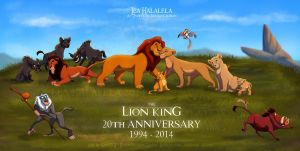 The Lion King 20th Anniversary Collab by KanuTGL