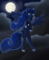 MLP- Princess Luna by Crazy-Luna