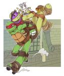 Raph and Donnie by LinART