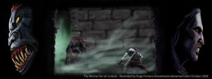 Epic Duel - Geralt vs Shtriga by metalmaster